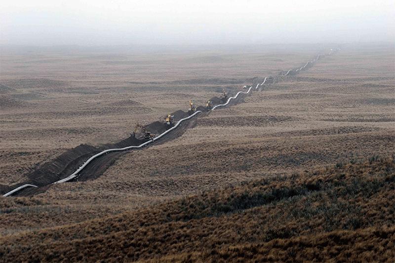 Los gasoductos Libertador General San Martín y Neuba II constituyen una de las obras de mayor envergadura del sur de la Argentina. Crédito: Odebrecht